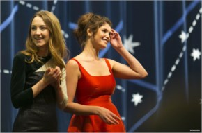 Saoirse Ronan and Gemma Arterton – Byzantium screening @ Glasgow Film Festival April 2013