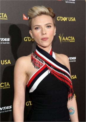 SCARLETT JOHANSSON at 2015 G'Day USA Gala in Los Angeles