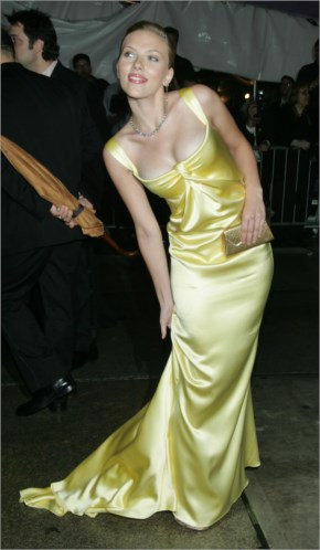 Scarlett Johansson at Met Ball PhotoShoot