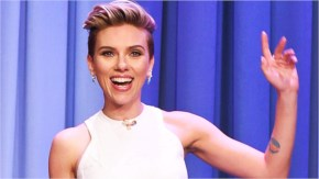 Scarlett Johansson - Never Before Seen Tattoo