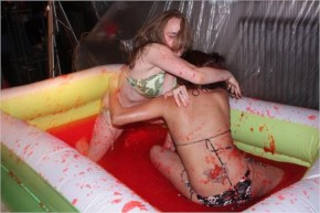 Sexiest Jelly Wrestling-35