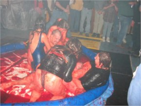 Sexiest Jelly Wrestling (40+ Photos)