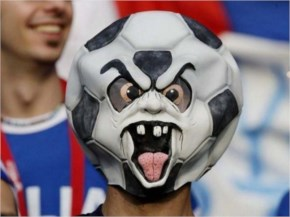 Soccer Header Faces fans are considered as most craziest sports fans in all over the world