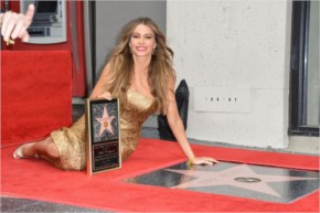 Sofía Vergara Style | Honored With a Star at the Hollywood Walk of Fame