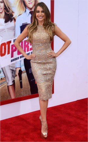 Sofía Vergara Style   Hot Pursuit Premiere in Hollywood at Red Carpet