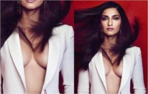 Sonam kapoor very hot and bold  photo shoot for a magazine  - laughspark.com