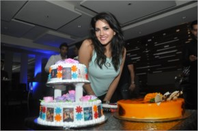 Sunny Leone | her birthday celebrations in Mumbai