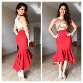 Sunny Leone outfit for fans
