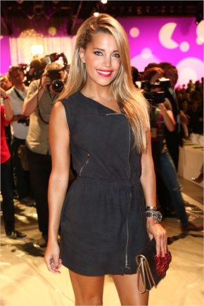 Sylvie Meis At Marc Cain Show-Mercedes Benz Fashion Show In Berlin