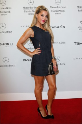 Sylvie van der Vaart (Sylvie Meis) – Marc Cain Show-Mercedes Benz Fashion Show in Berlin – July 2014