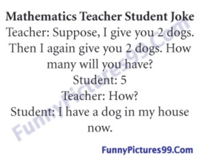 Teacher and student funny jokes
