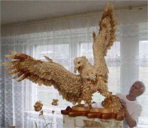 The Amazing Wood Art Chip Sculptures