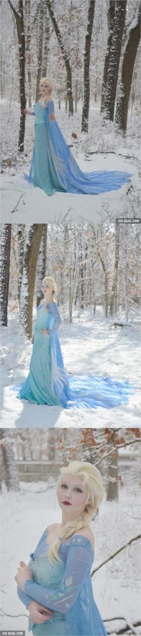 """The Best """"Frozen"""" Cosplay You'll Ever See"""