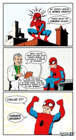 The Horrible Secret of Spider-Man's Powers