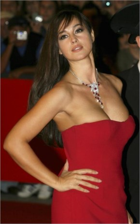 The Italian goddess Monica Bellucci