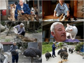 The Radioactive Man Who Returned To Fukushima To Feed The Animals That Everyone Else Left Behind