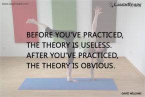 Theory is Useless | Yoga Day Quotes
