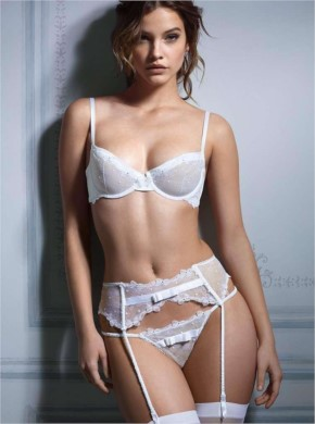This is why barbara palvin wears lingerie for a living photo