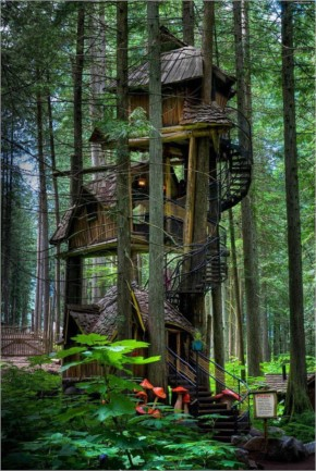 Three Story Treehouse (British Columbia, Canada)