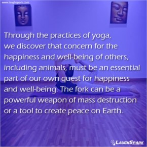 Through the Practices of Yoga | Yoga Quote Images