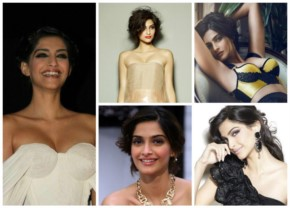 Top 10 Collections of Sonam Kapoor Hot look Pictures