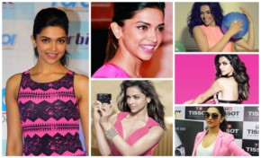 Top 12 Deepika Padukone in Pink Dress with a Pinky Smile