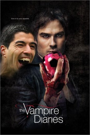 Top  Reasons why  People on Social media  assign new name for Luis Suarez  as  Vampire