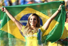Unsurprisingly fans of host country Brazil have been a strong presence at many of the matches