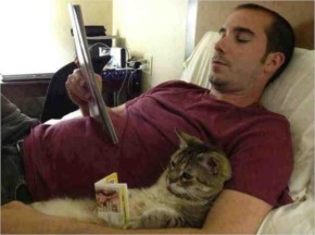 very funny photos Guy and Cat Read
