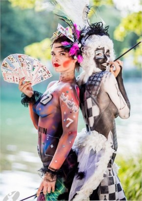 WBF body painting art photo T Spranger