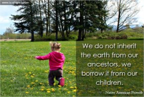 We Borrow it from our Children | World Environment Day