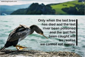 We Cannot Eat Money - World Environment Day