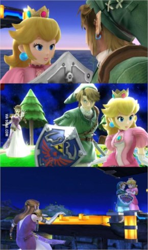 We know which couple the snapshot takers of SSB4 prefer