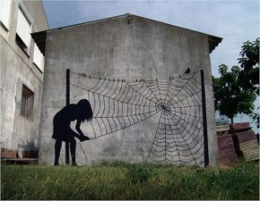 Web Art By Pejac