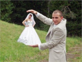 Weird Funny Wedding dress