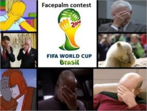 What I thought when I saw the FIFA World Cup Brazil logo