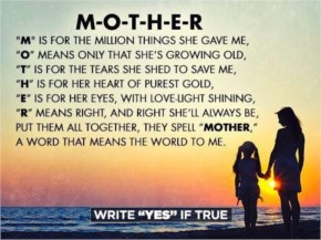 what is the meaning of mother - Happy Mothers Day