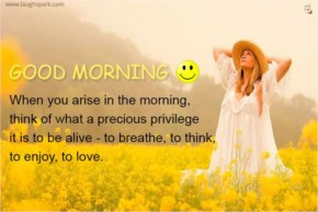 When you arise in the morning | Good Morning Wishes