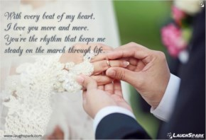 With Every Beat Of My Heart - Love Quotes For Her From The Heart