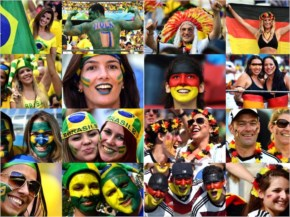 With the all important semi-final coming up against Brazil, a look at how the German players and the fans are setting themselves up for a possible eighth entry into the World Cup final