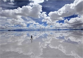 World Largest Salt Flat in Bolivia