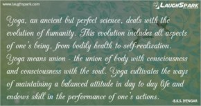 Yoga an Ancient | Yoga Quotes of the Day