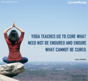Yoga Teaches us to Cure | Yoga Quotes of The Day