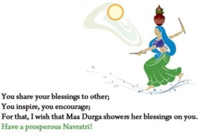 You share your blessings to other