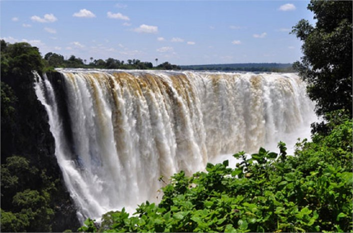10 Most Beautiful Places In The World-1 Victoria Falls ... 10 Most Beautiful Places In The World