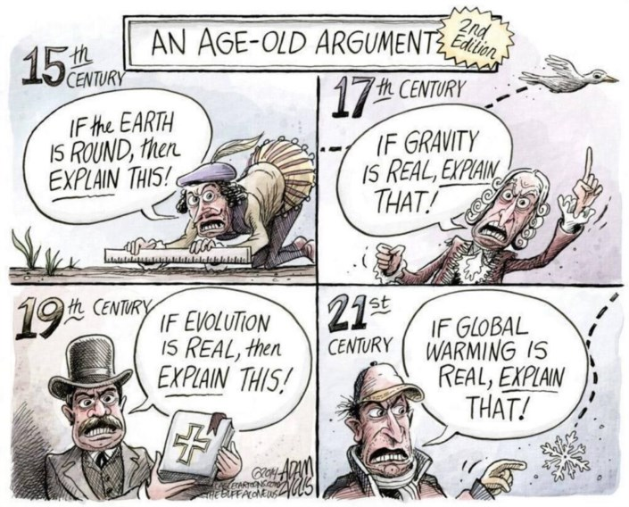 counter argument on global warming Overview this page collects legitimate arguments against any of the various aspects of global warming, and any known counter-arguments particular points.