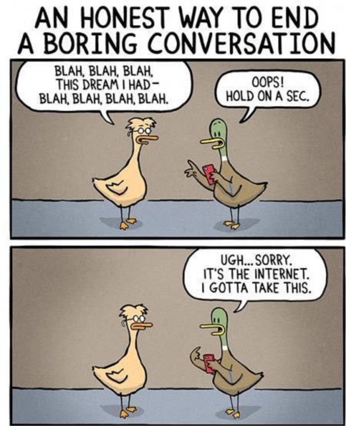 how to start a boring conversation
