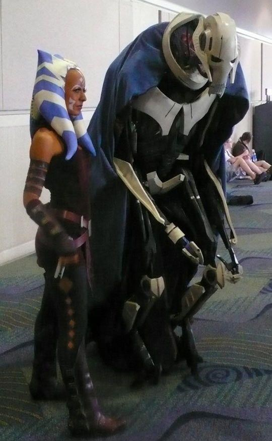 awesome star wars grievous cosplay