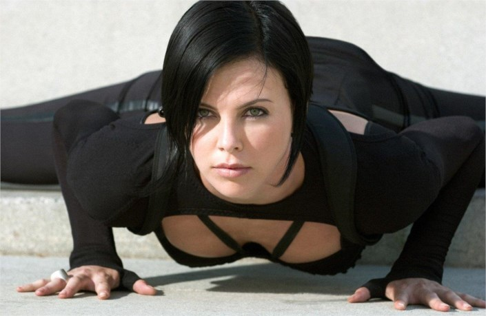 Image result for Aeon Flux - played by Charlize Theron