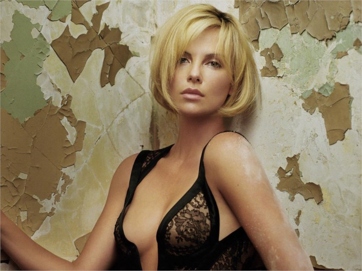 Charlize Theron spicy hot